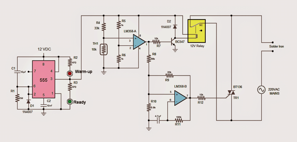 2 Useful Energy Saver Solder Iron Station Circuits ... on magic bullet diagram, speaker diagram, touch screen diagram, electric fan diagram, popcorn maker diagram, induction cooker diagram, record player diagram,
