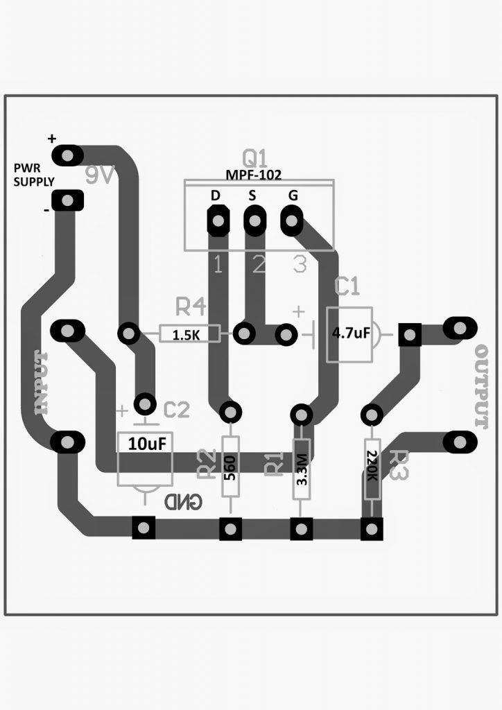 diy contact mic circuit