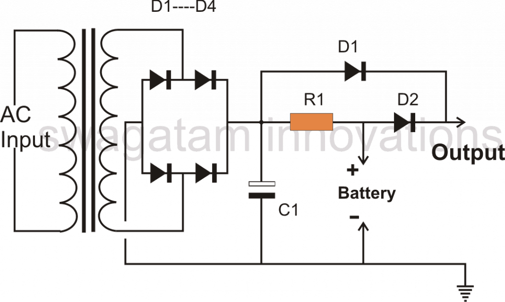 arduino mains failure battery backup circuit