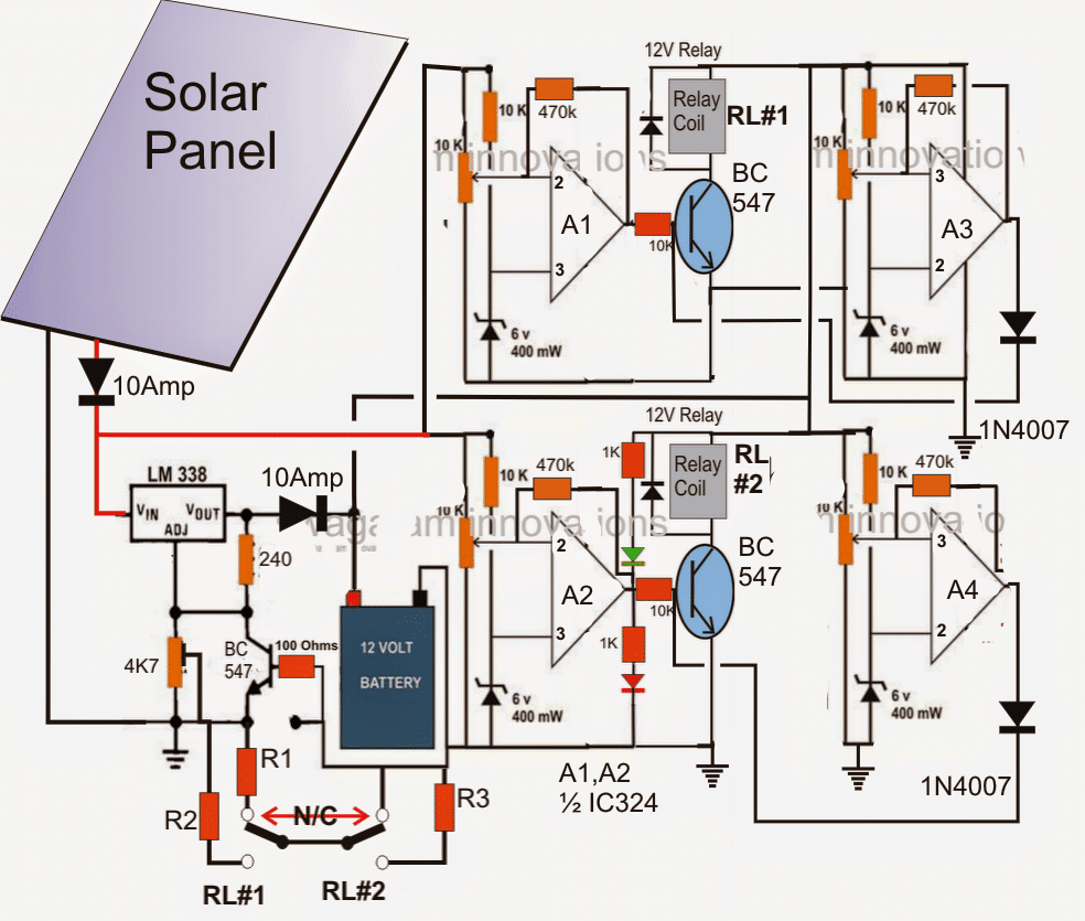 How To Make A Solar Panel Optimizer Homemade Circuit