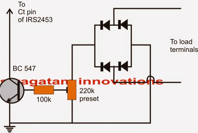 inverter output voltage regulator circuit