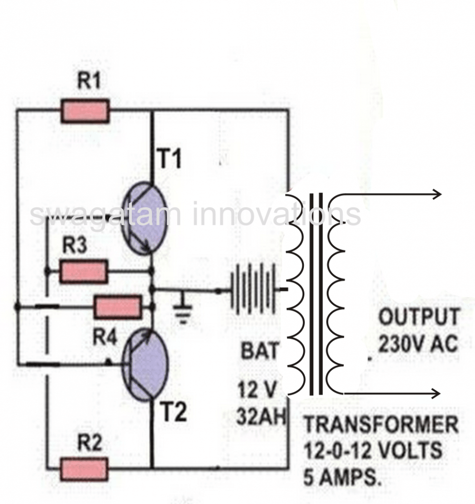 Home Solar Electricity Set Up For An Off The Grid Living 12 Volt Battery Charger Schematic Http Homemadecircuitsandschematics Above Panel Regulator May Be Configured With Following Simple Inverter Circuit Which Will Quite Adequate Powering Requested Lamps