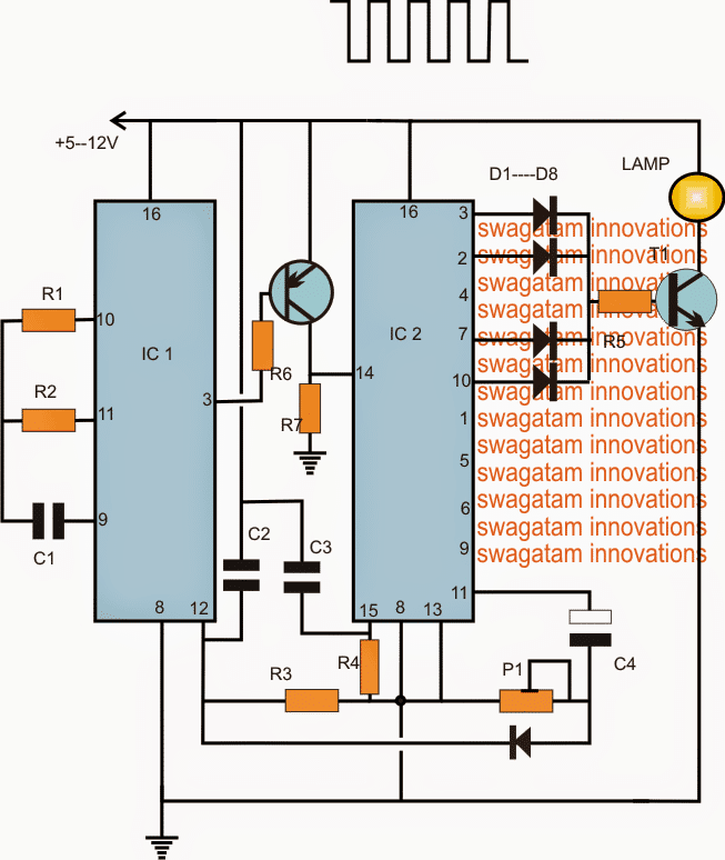 Morse Code Flasher Circuit For Lighthouse