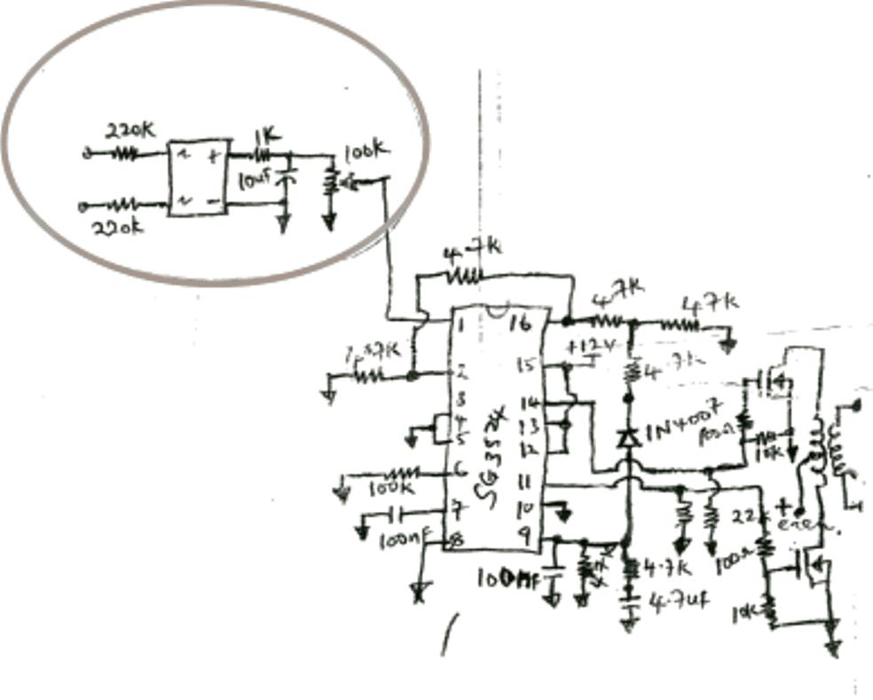 SG 3525 Automatic PWM Voltage Regulation Circuit | Homemade Circuit