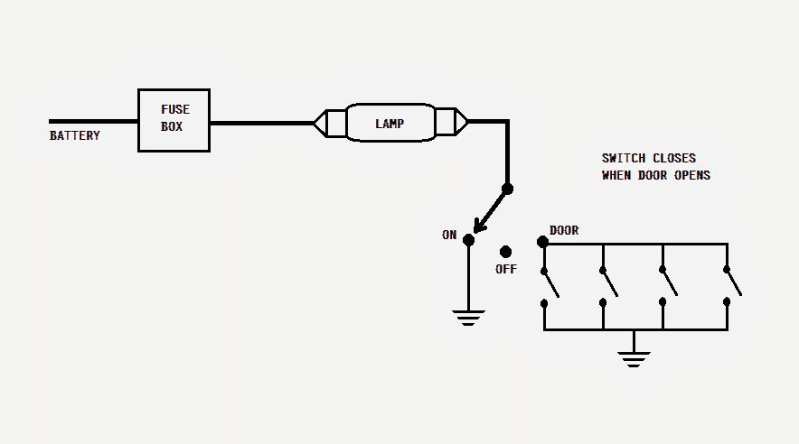 Make this Car Interior Light Fader Circuit | Homemade ... Fader Wiring Diagram on