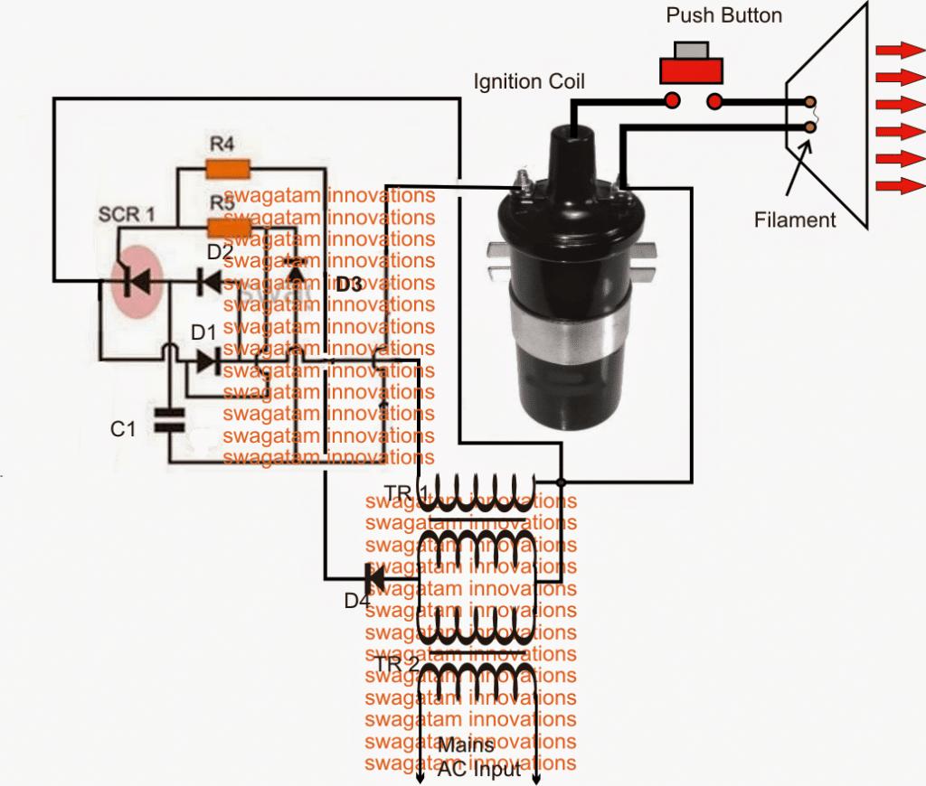 EMP generator circuit