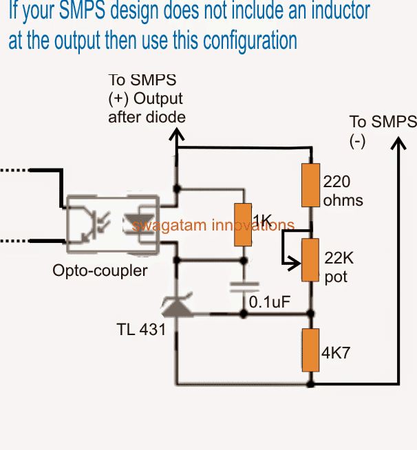 How to Modify SMPS for Adjustable Current and Voltage Output ...