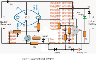 High Current Li-ion Battery Charger Circuit