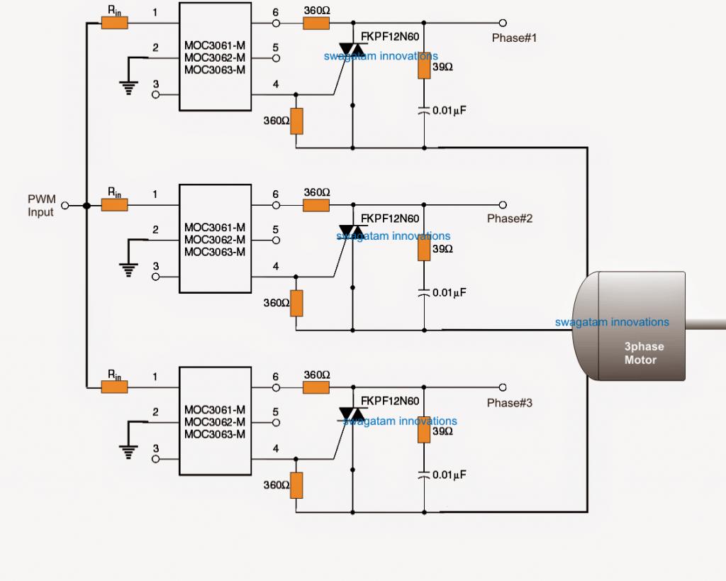 Pwm Motor Soft Start Circuit