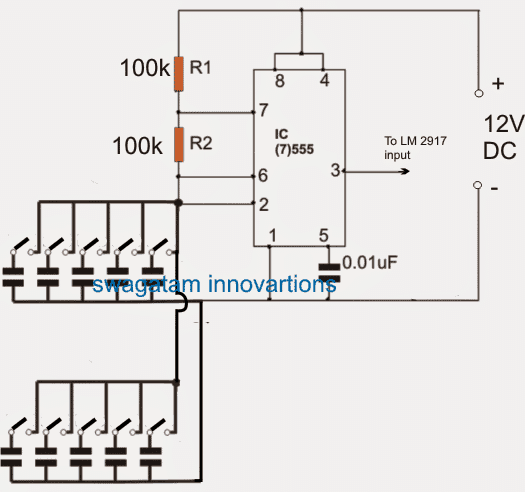 industrial valve switching detector indicator circuit