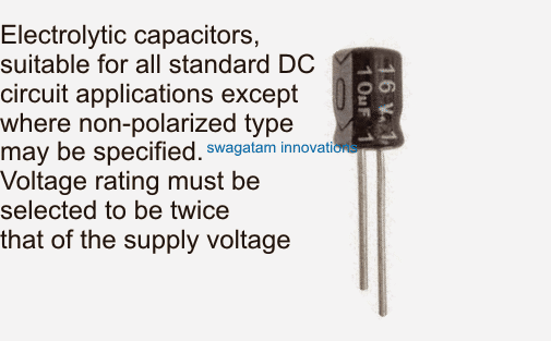 identifying electrolytic capacitor rating