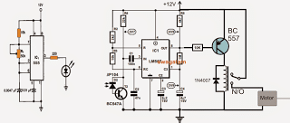 Remote Controlled Fish Feeder Circuit on gas detector circuit diagram