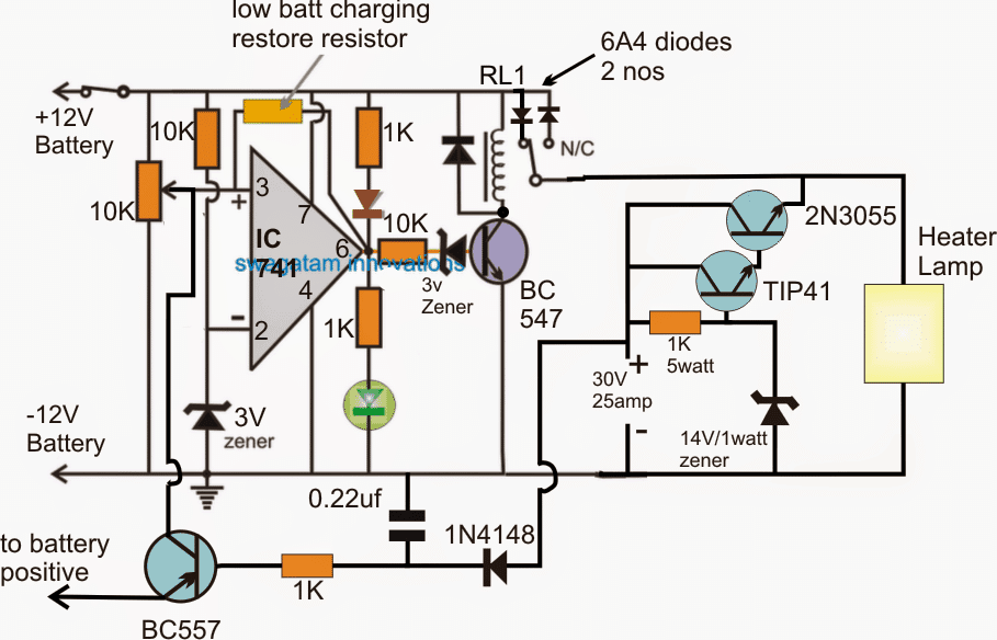 Emergency Incubator Heater Circuit