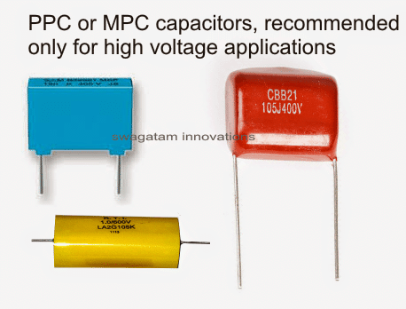 identifying PPC MPC capacitor rating