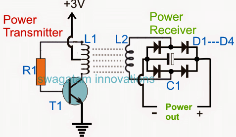 Wireless cellphone charger homemade circuit projects rest of the portion is quite straightforward and is as per our earlier diagram ccuart Image collections