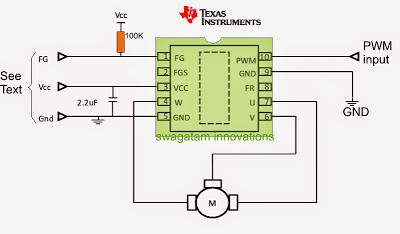 Sensorless bldc motor driver circuit part 1 for Bldc motor controller ic