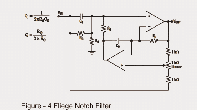 notch filter circuits with design details