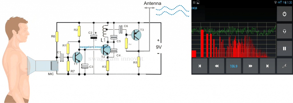 Wireless Stethescope Amplifier Circuit