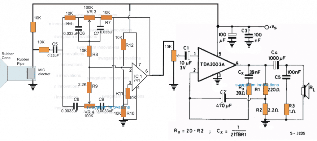 making a stethescope amplifier circuit