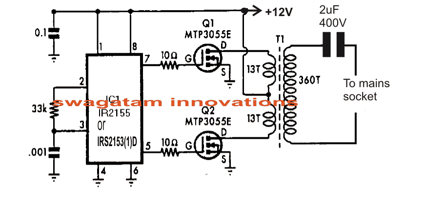 Power Line Communication Remote Control Circuit Homemade