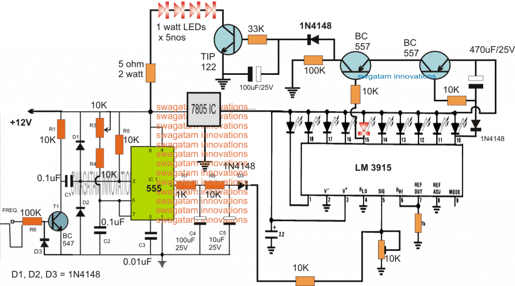 brake light circuit using speed detection