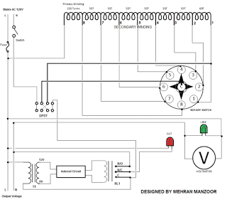 Automatic Voltage Regulator (AVR) Circuit