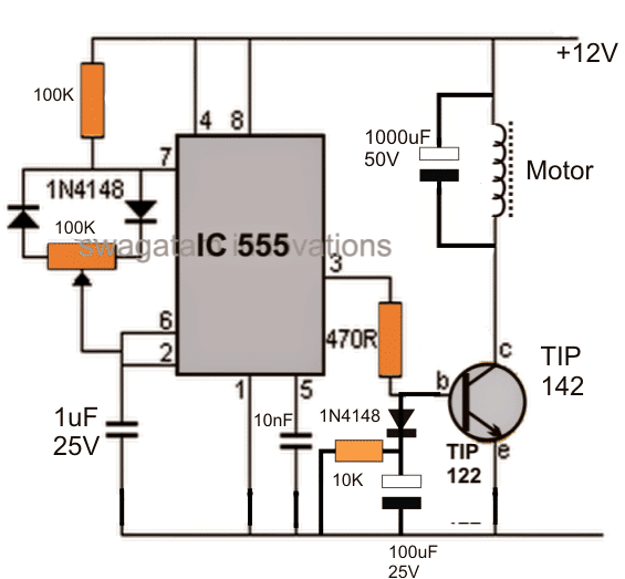 Diy Bldc Motor Driver Circuit: Homemade Circuit Projects
