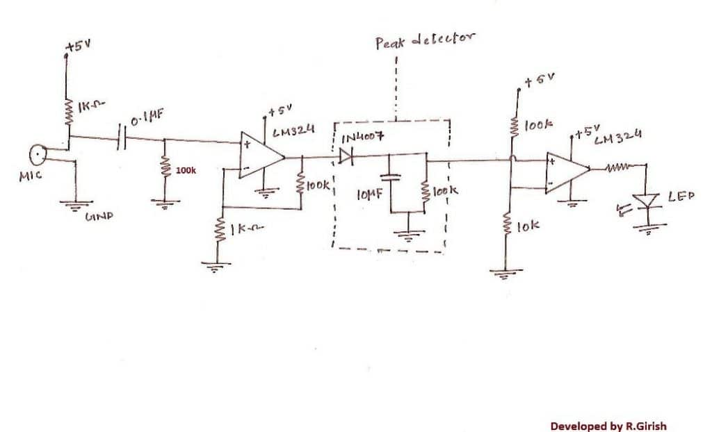 simple peak detector to detect and hold peak voltage levels rh homemade circuits com