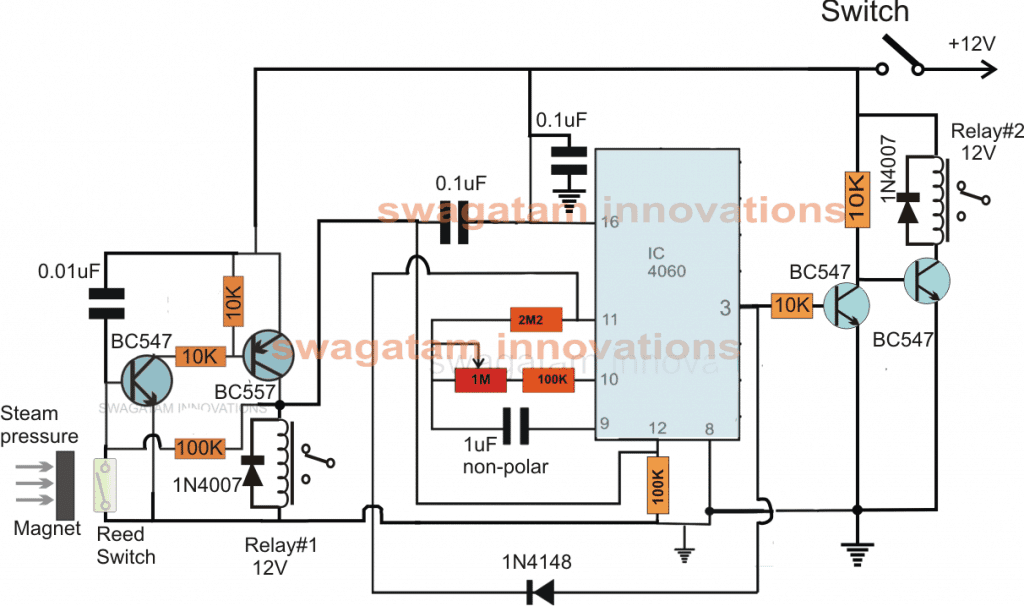 Autoclave Heater Controller Circuit With Timer Homemade Circuit