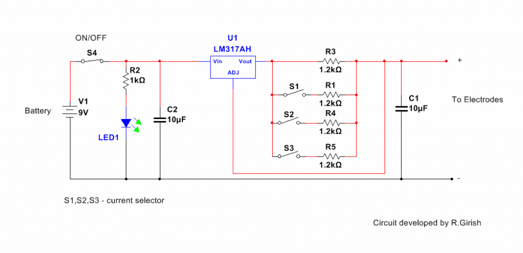 how to make tdcs brain stimulator rh homemade circuits com Basic Wiring Light Fixture Do It Yourself Wiring Diagrams