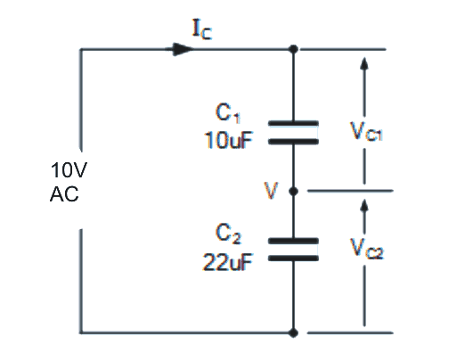 Capacitive Voltage Divider Circuit Explained