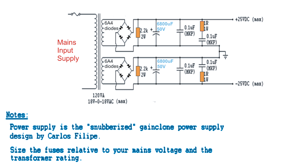 32 watt Amplifier Circuit using TDA2050 | Homemade Circuit