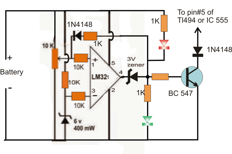 Adding a Full Charge Cut-off to the Buck Converter Output