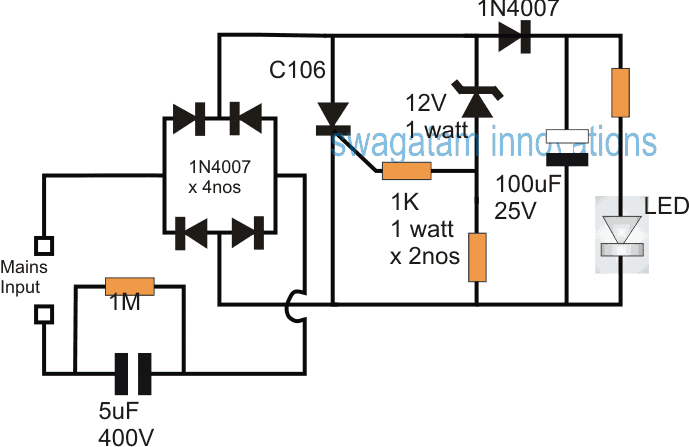 scr shunt circuit for protecting led drivers