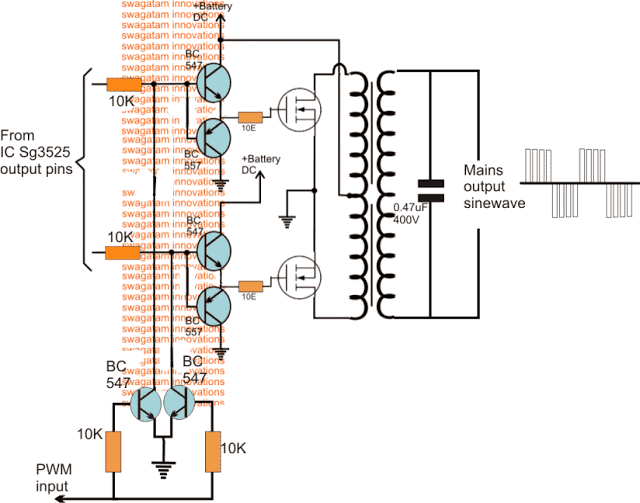 BJT buffer with mosfet