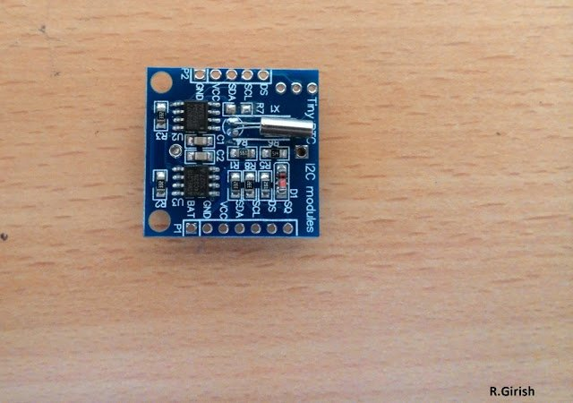 Digital Alarm Clock Circuit using Arduino and Real Time