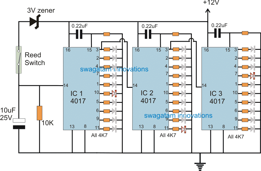 Transformer Winding Counter Circuit