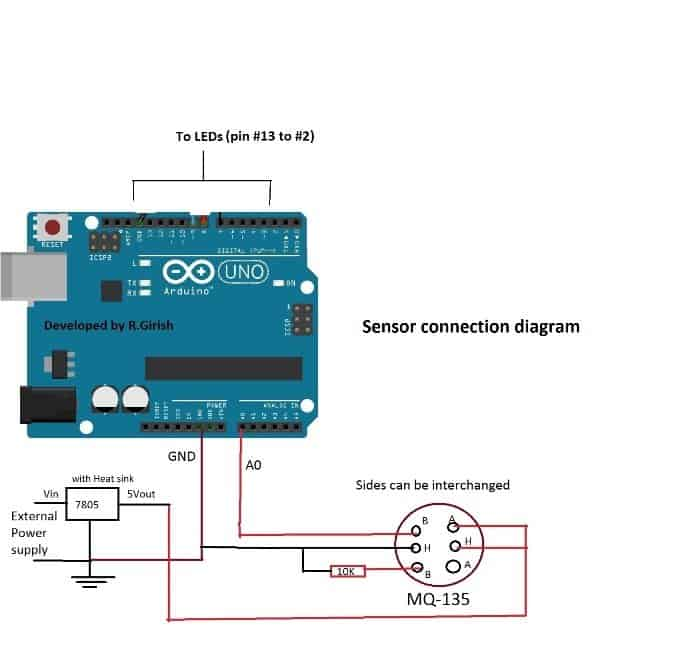 How To Build Mains Operated Led Circuit Schematic