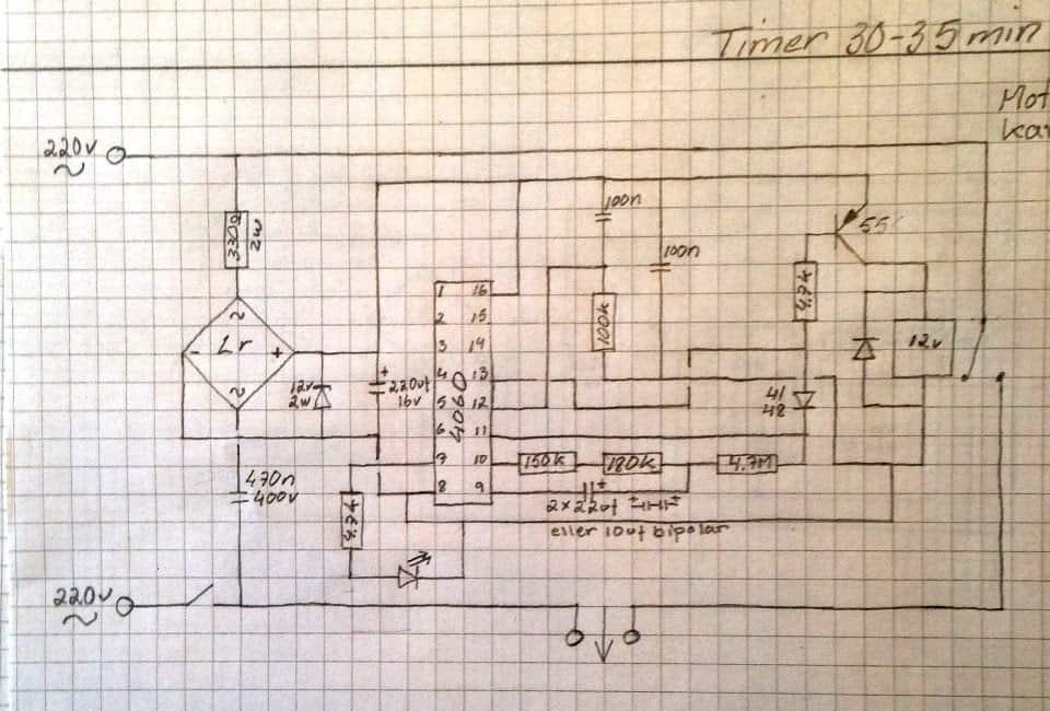 IC 4060 Timer Latching Problem