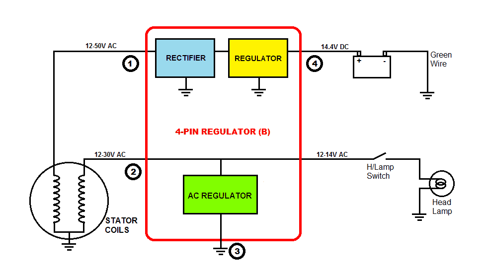 7 pin to 4 pin trailer wiring diagram understanding motorcycle voltage regulator wiring ...