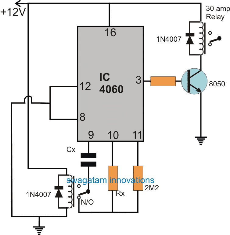 Timer Circuits With Auto Pause And Memory During Power