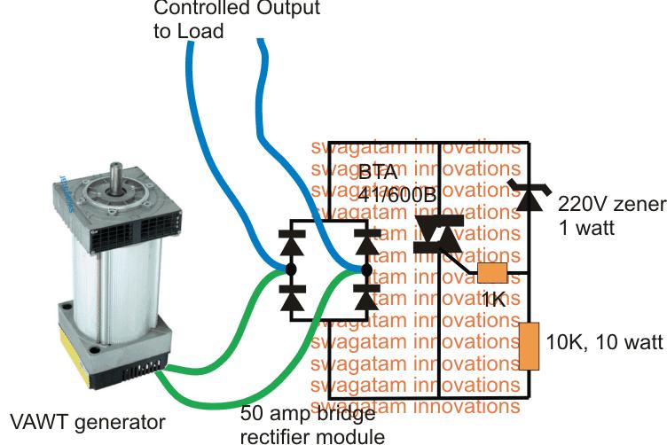 Automatic RPM Regulator Circuit for Diesel Generators