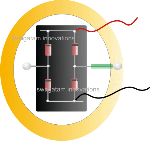 bridge rectifier for shoe electricity generator