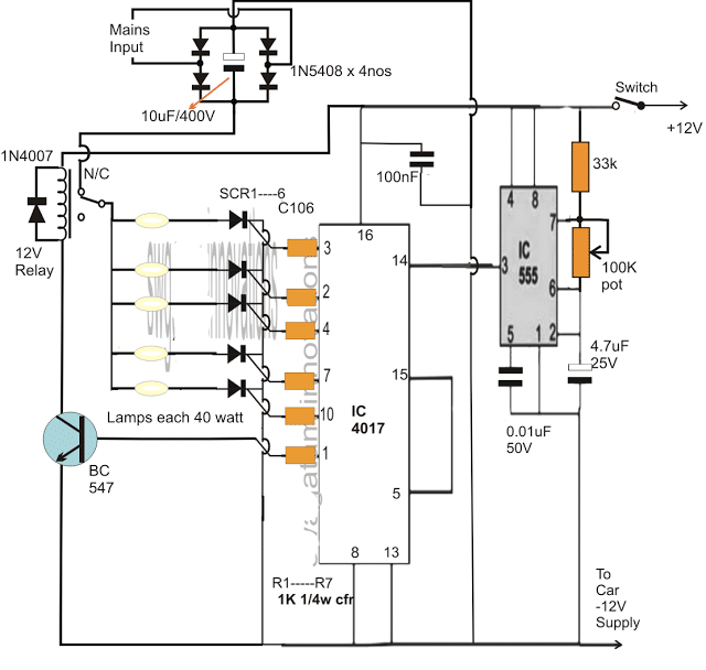 Timer Circuit for Fitness Gym Application