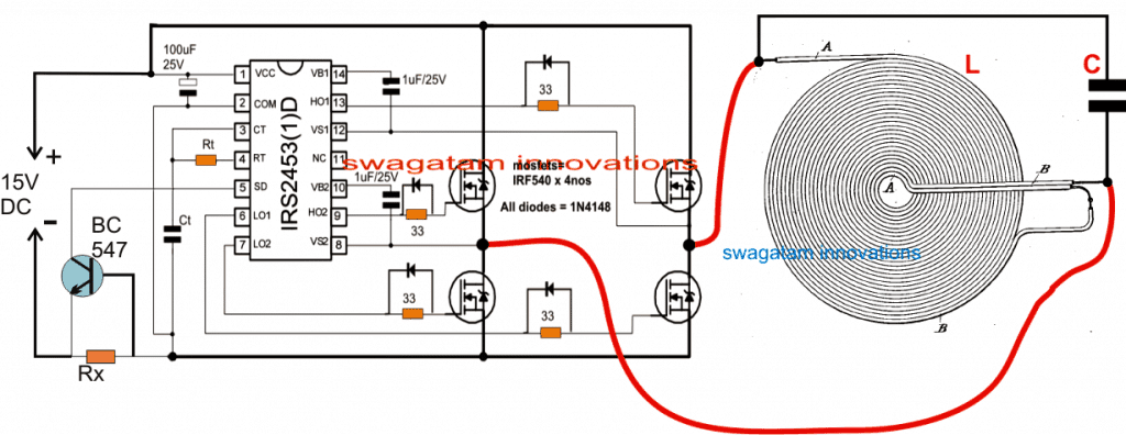 Induction on Induction Cooker Circuit Diagram
