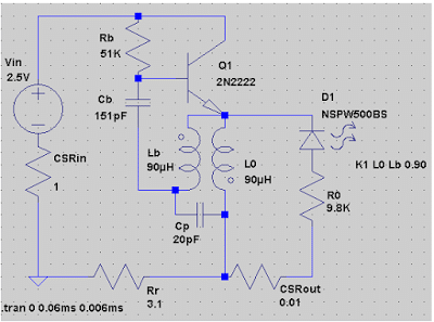 Dr. Steven,s 8X Overunity Circuit using Joule Thief Cocept