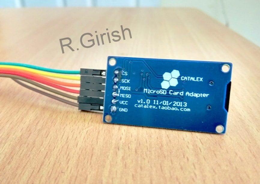 Interfacing SD Card Module for Data Logging | Homemade