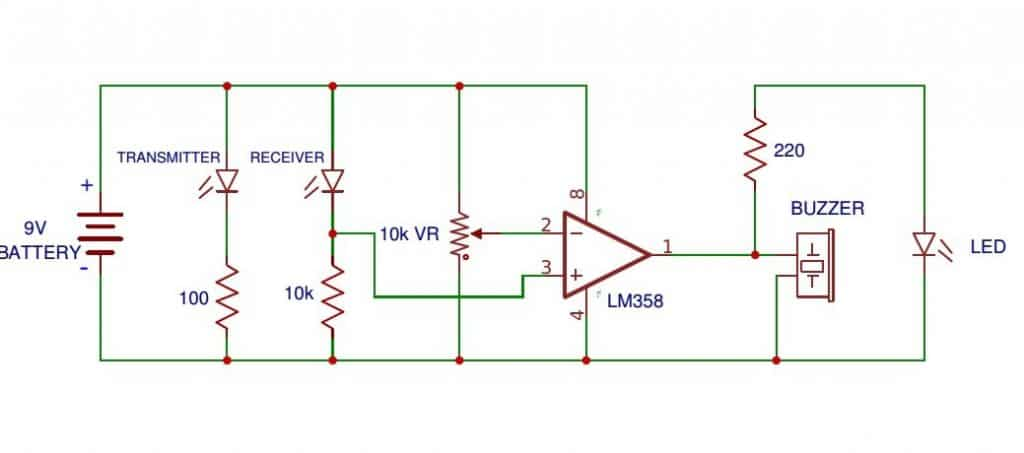 How to Connect an IR Photodiode Sensor