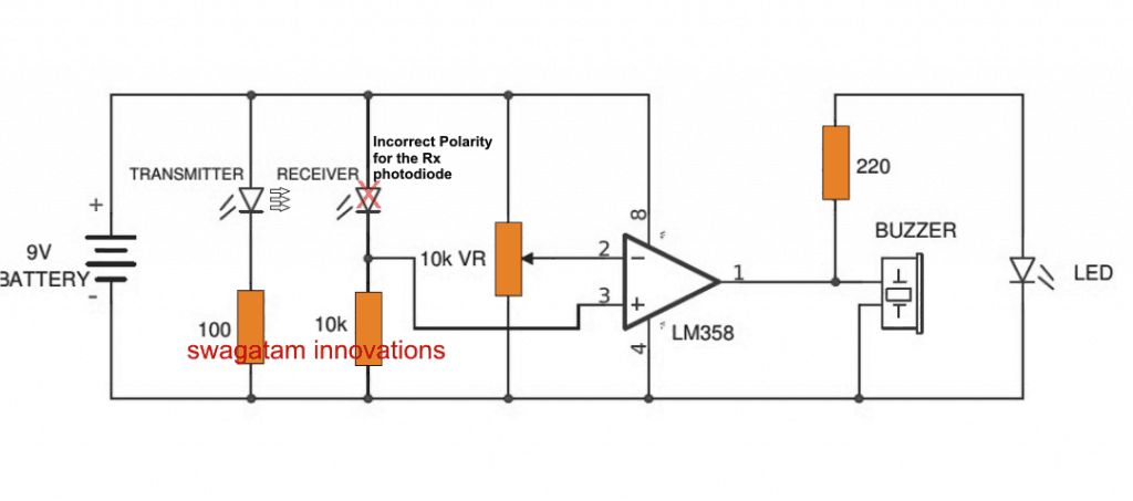 photodiode is connected forward bias