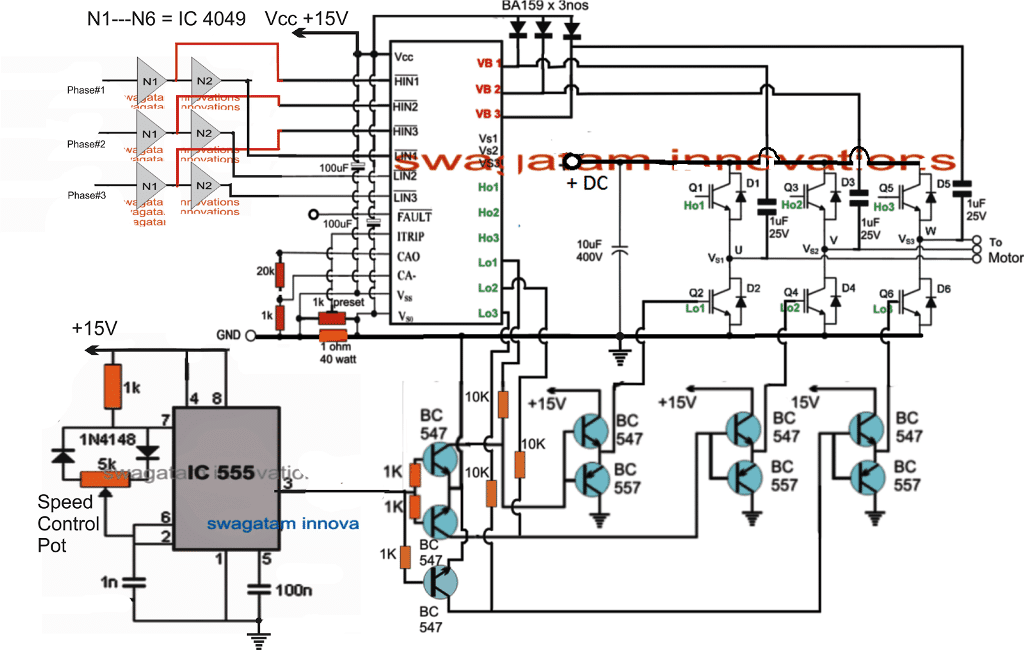 Simple Esc Circuit Diagram - Wiring Diagram Sys